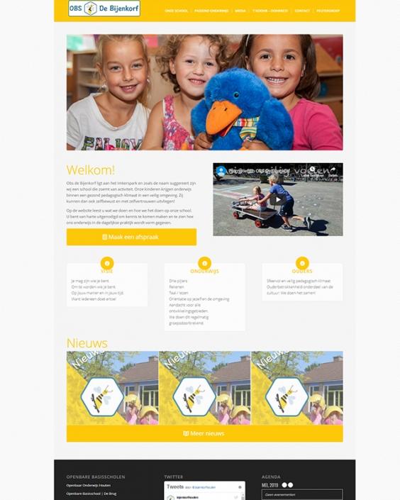 Schoolwebsite - OBS De Bijenkorf
