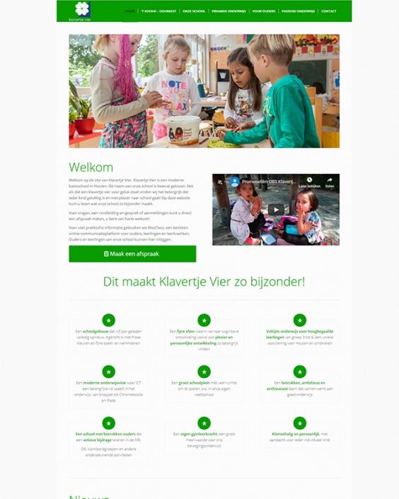 Schoolwebsite - OBS Klavertje Vier