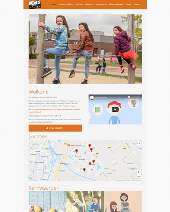 Schoolwebsite - Openbaar Onderwijs Houten