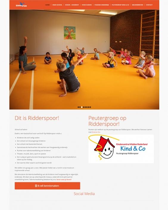 Schoolwebsite - OBS Ridderspoor